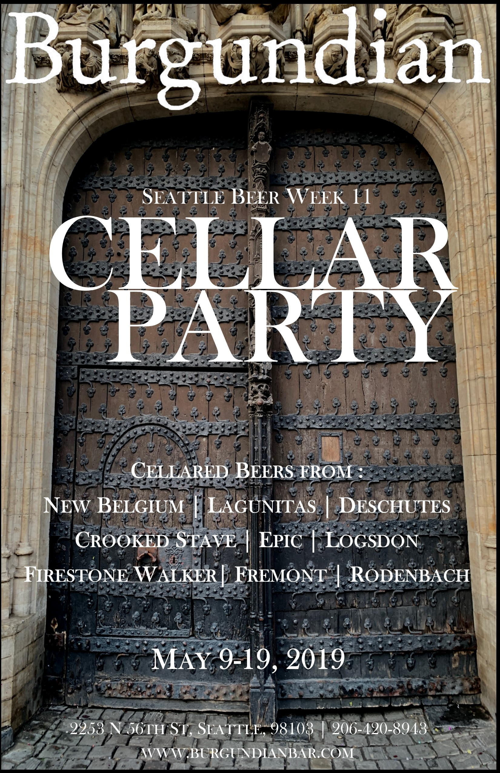 Seattle Beer Week 11 –  Cellar Party